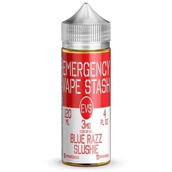 EMERGENCY, VAPE, STASH, BLUE, RAZZ, RASPBERRY, SLUSHIE