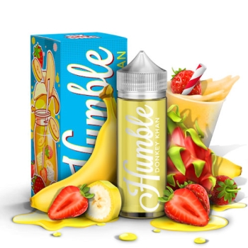 HUMBLE, DONKEY, KHAN, KONG, JUICE, E-LIQUID, STRAWBERRY, BANANA, BANNANAS, BERRY, STRAWBERRRIES