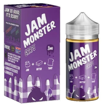 JAM, MONSTER, GRAPE, TOAST