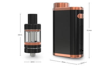 pico, istick, eleaf, mod, red, crackle, dazzling, rainbow, woodgrain, brushed, silver, jet, black, bronze