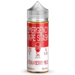 STRAWBERRY, MILK, EVS, EMERGENCY, VAPE, STASH, 120ML