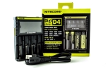 CHARGERS, D4, NITECORE, DIGI, DIGICHARGER, BATTERIES, 18650, 18350, 26650