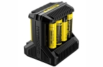I8, CHARGER, 18650, 18350, 26650, BATTERY, BATTERIES, LITHIUM, IONS, -ION, CHARGERS, NITECORE, 8, RECHARGABLE, RECHARGEABLE