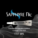 SAPPHYRE, SAPPHIRE, NIC, NICOTINE, ADDITIVE